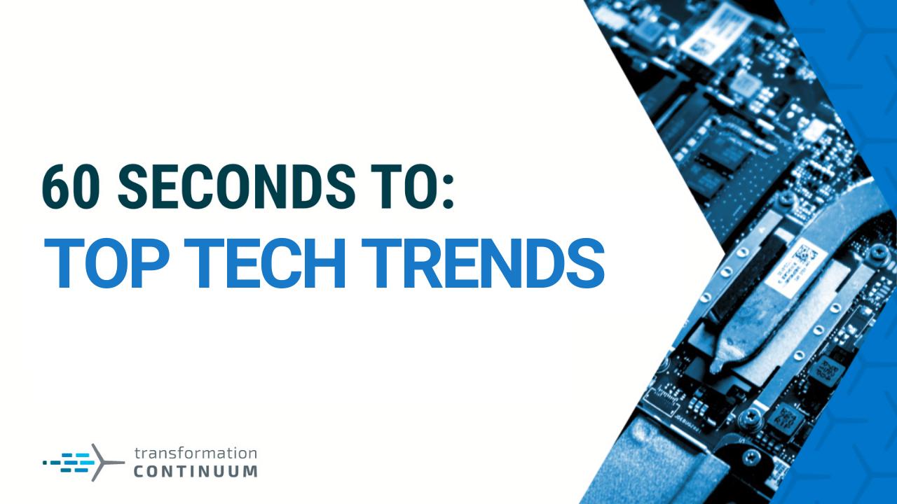 Top Tech Trends Header